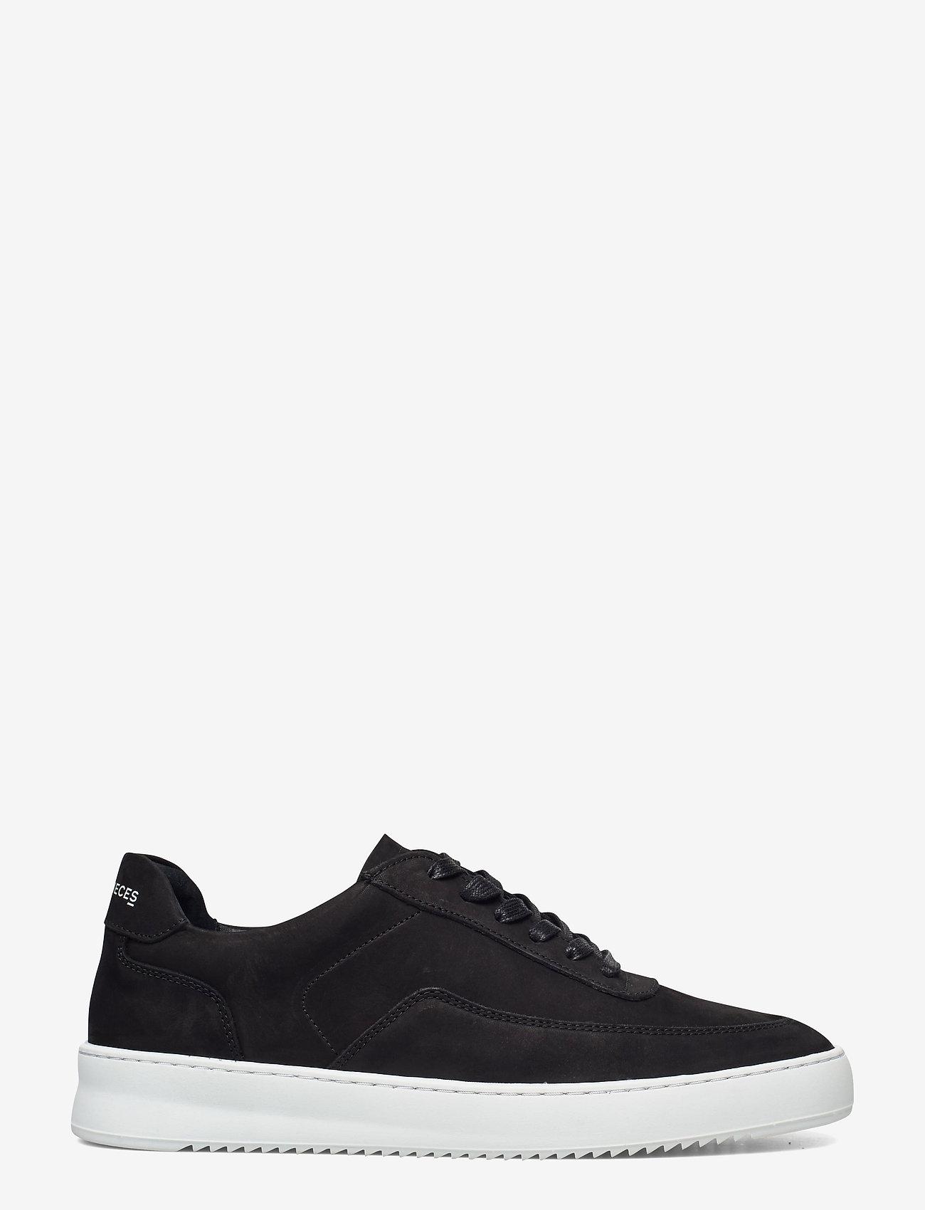 Filling Pieces - Mondo 2.0 Ripple Nubuck - låga sneakers - black - 0