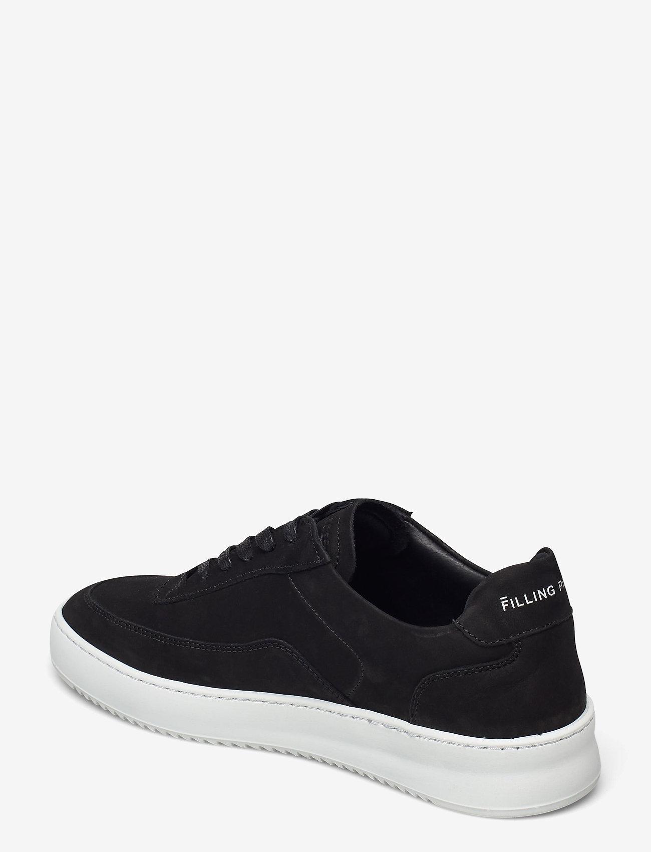 Filling Pieces - Mondo 2.0 Ripple Nubuck - låga sneakers - black - 2