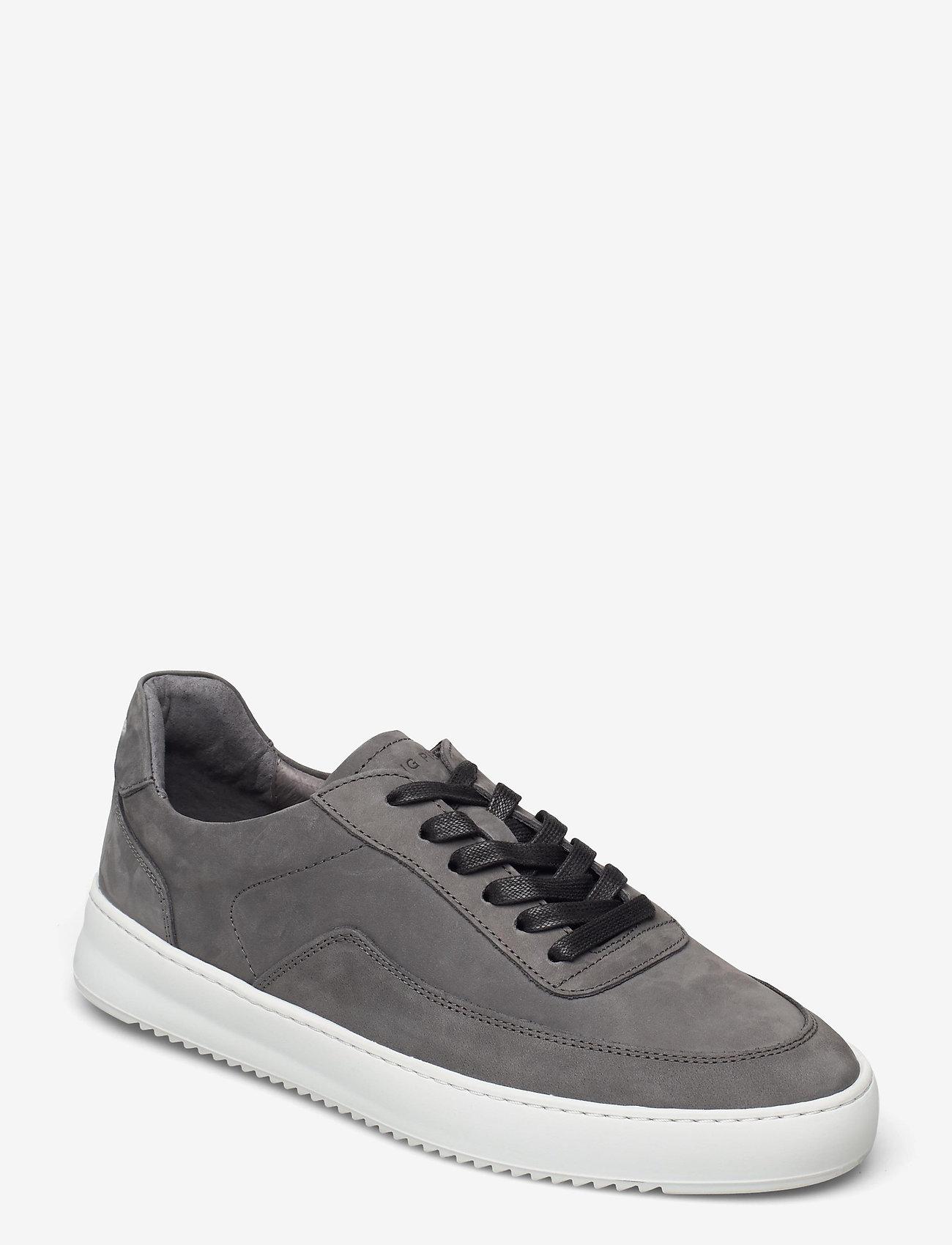 Filling Pieces - Mondo 2.0 Ripple Nubuck - låga sneakers - grey - 1