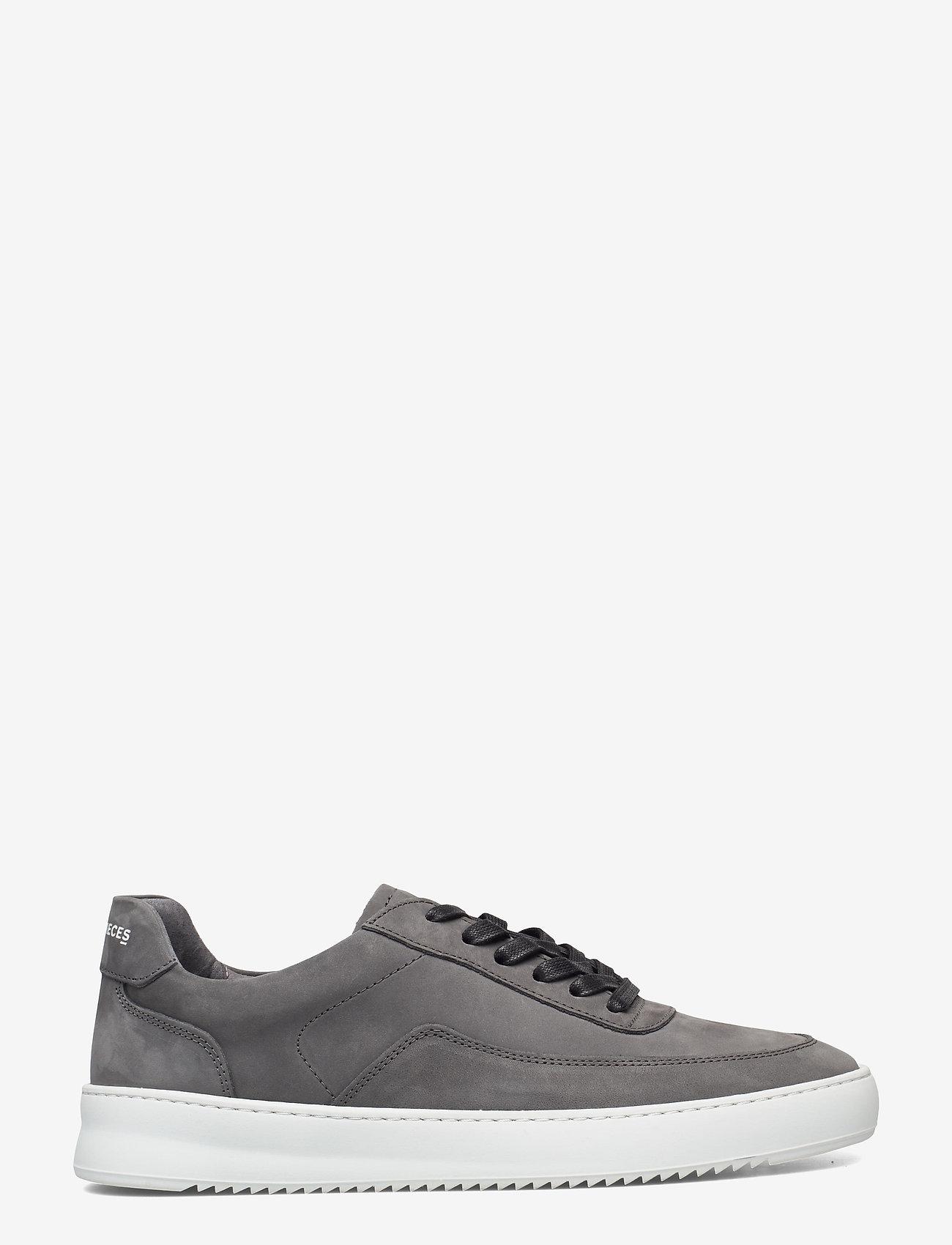 Filling Pieces - Mondo 2.0 Ripple Nubuck - låga sneakers - grey - 0