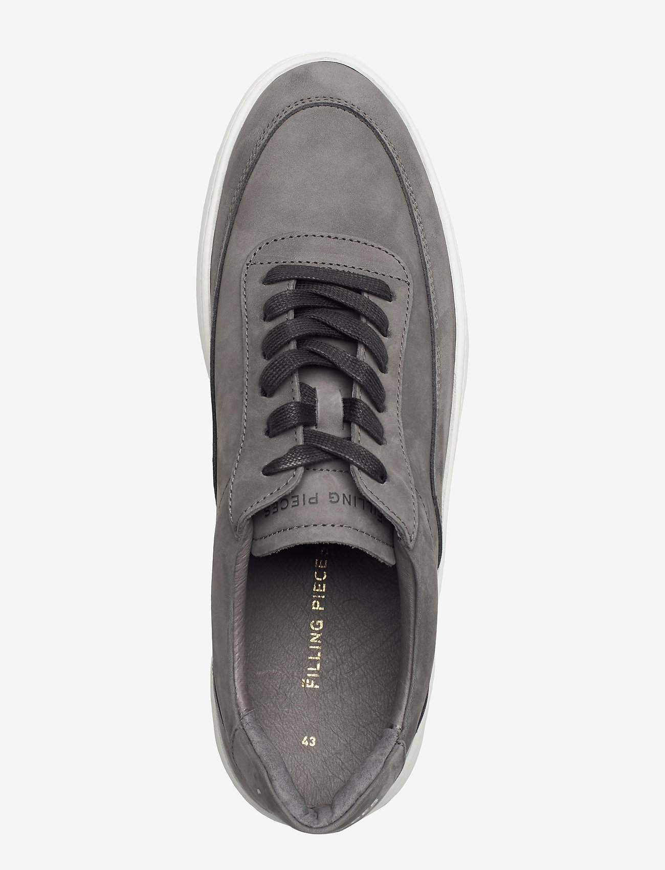 Filling Pieces - Mondo 2.0 Ripple Nubuck - låga sneakers - grey - 3