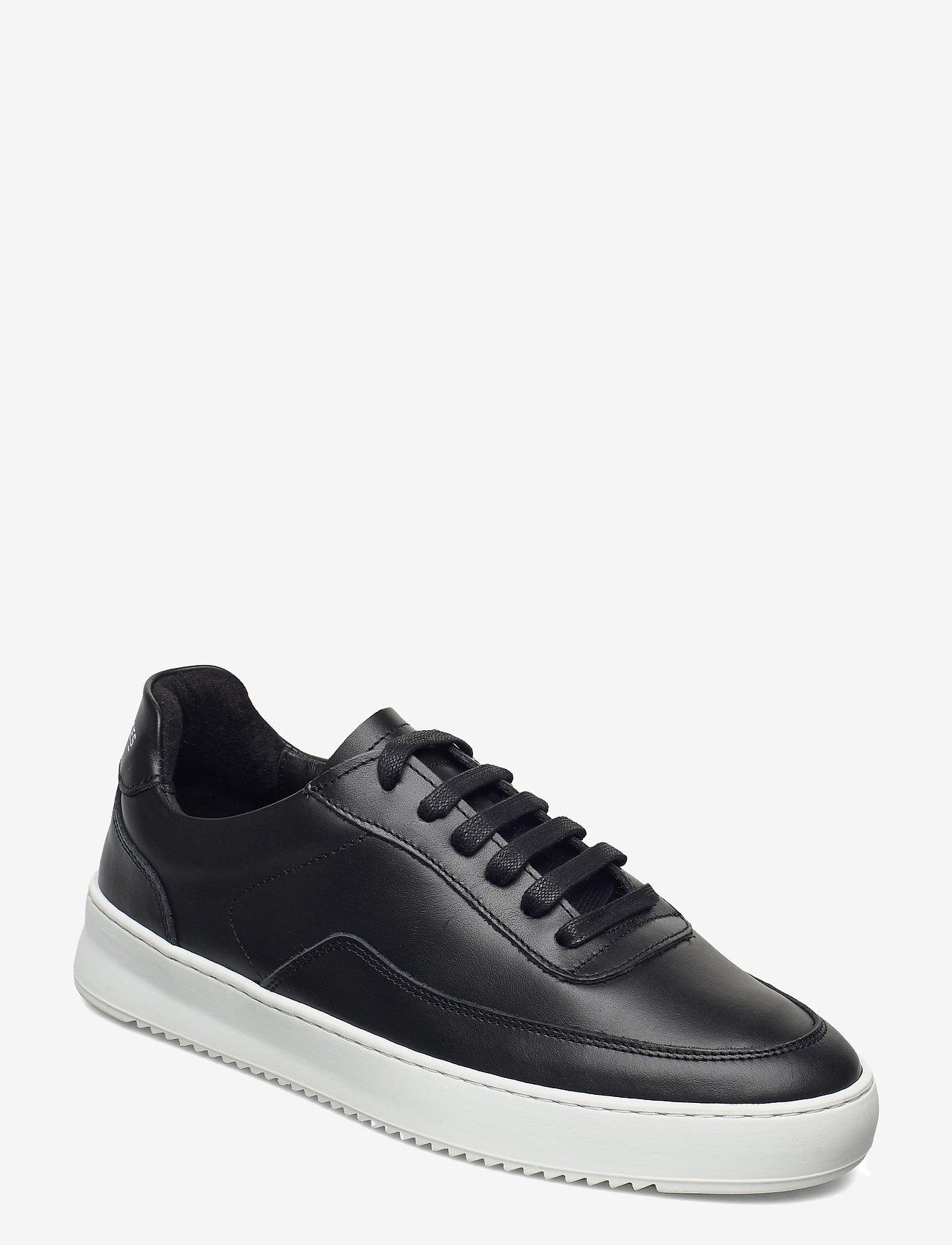 Filling Pieces - Mondo 2.0 Ripple Nappa - låga sneakers - black - 1