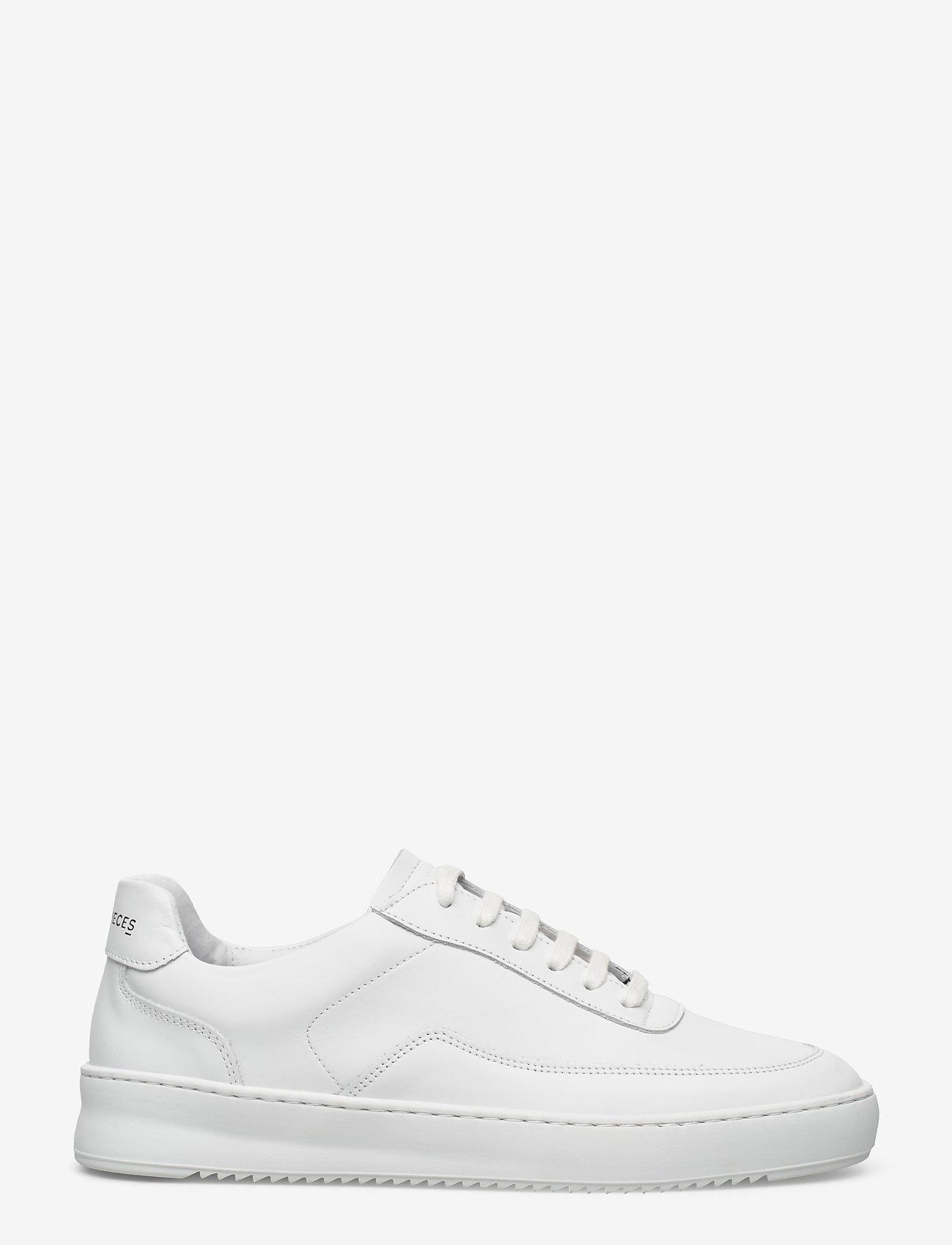 Filling Pieces - Mondo 2.0 Ripple Nappa - låga sneakers - white - 0