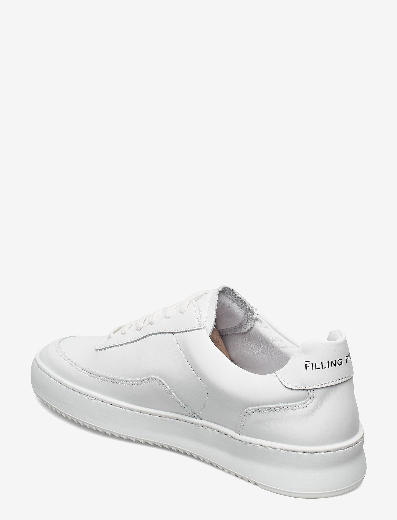 Filling Pieces - Mondo 2.0 Ripple Nappa - låga sneakers - white - 2