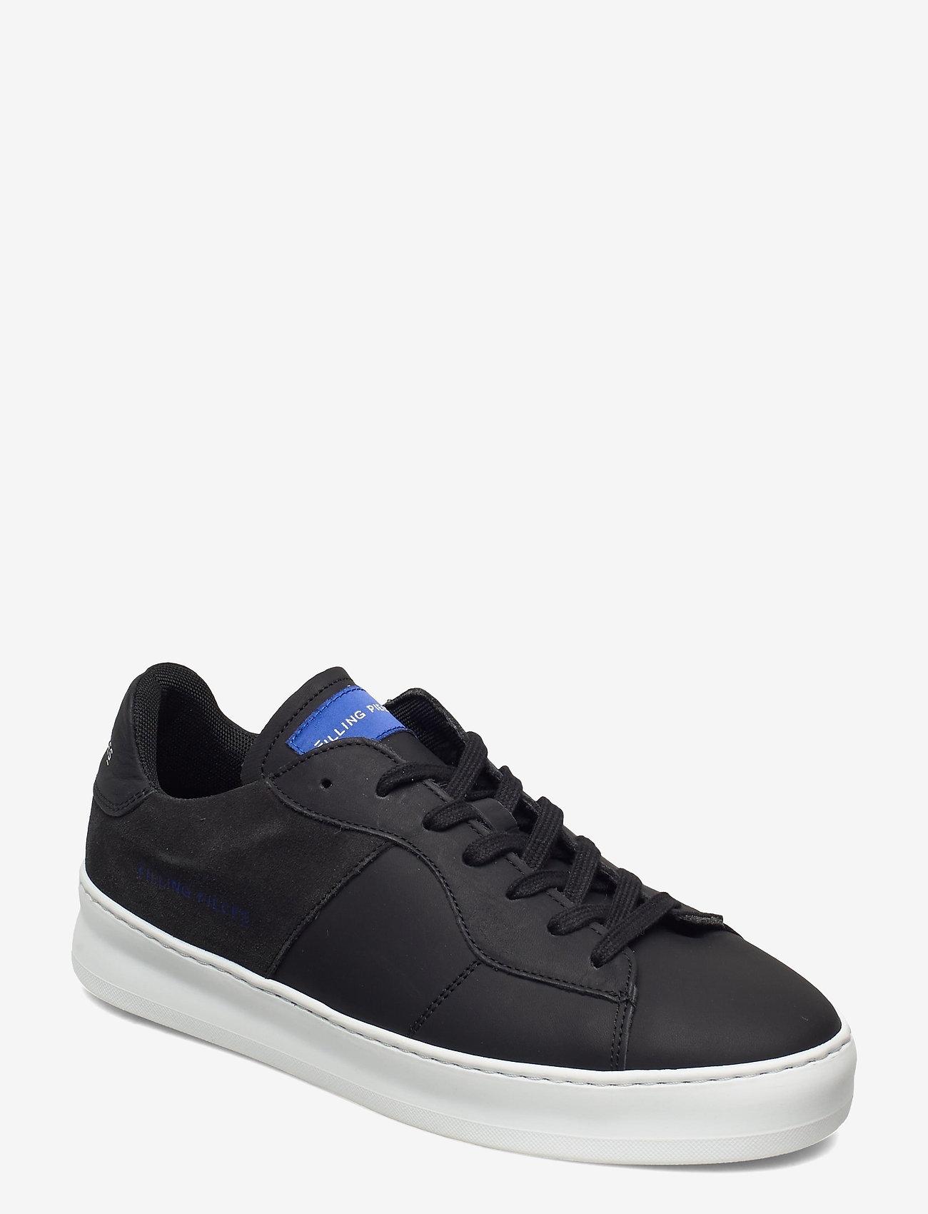 Filling Pieces - Low Plain Court - låga sneakers - black - 1