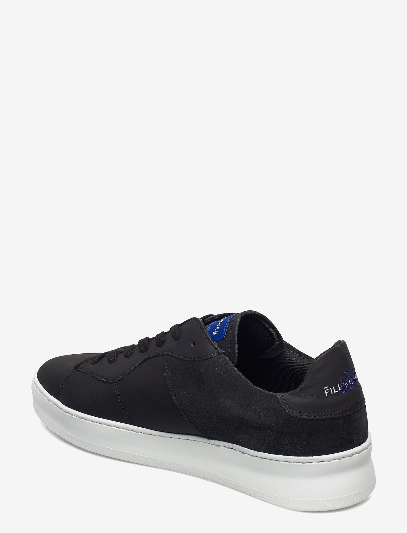 Filling Pieces - Low Plain Court - låga sneakers - black - 2