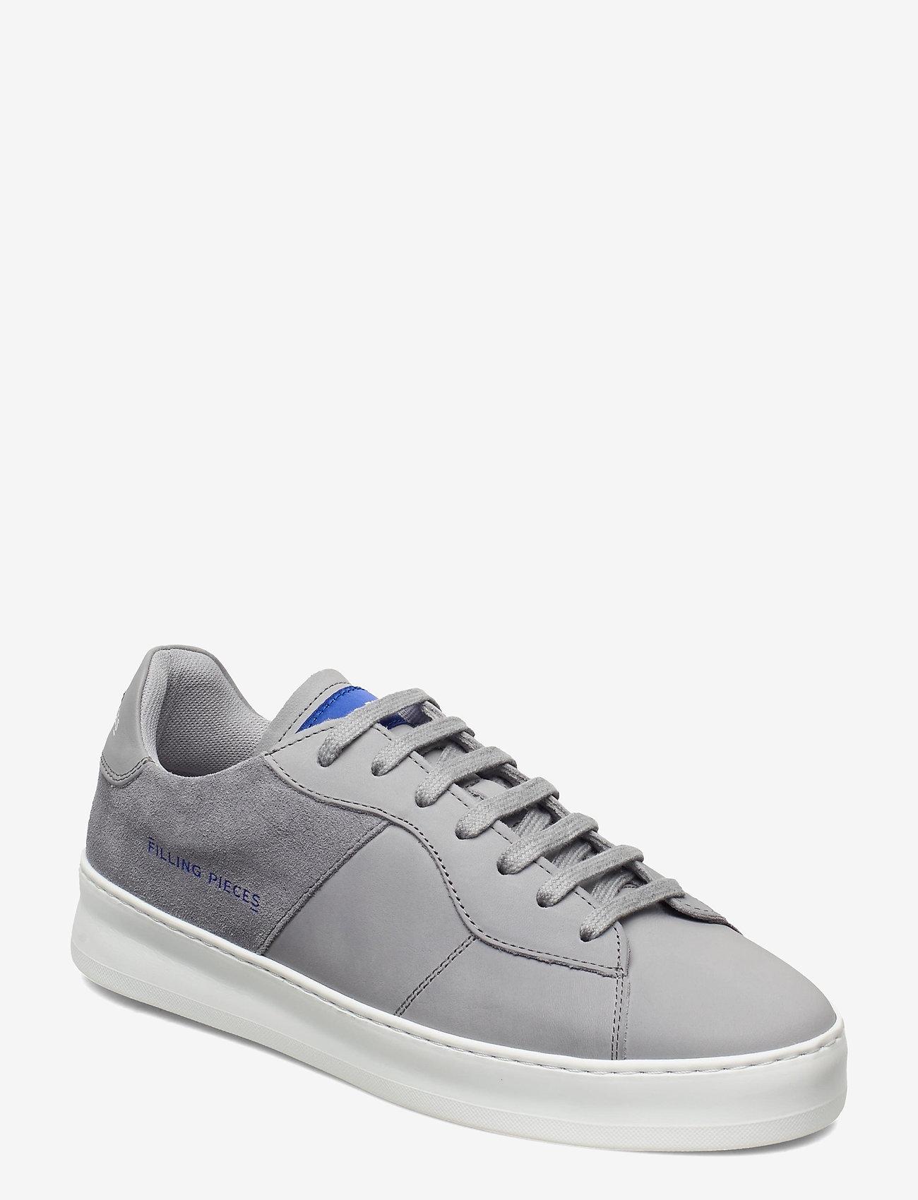 Filling Pieces - Low Plain Court - låga sneakers - grey - 1