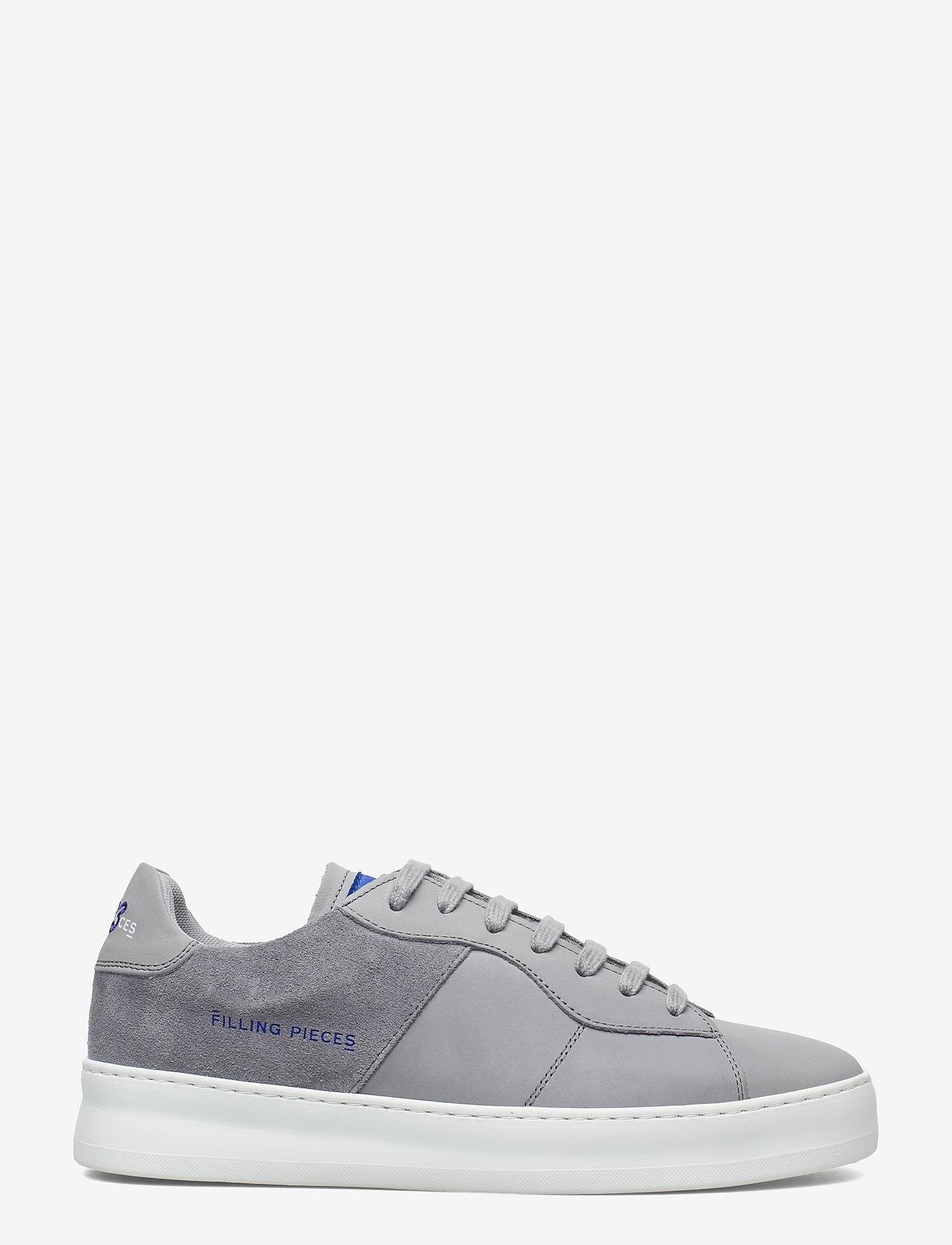 Filling Pieces - Low Plain Court - låga sneakers - grey - 0