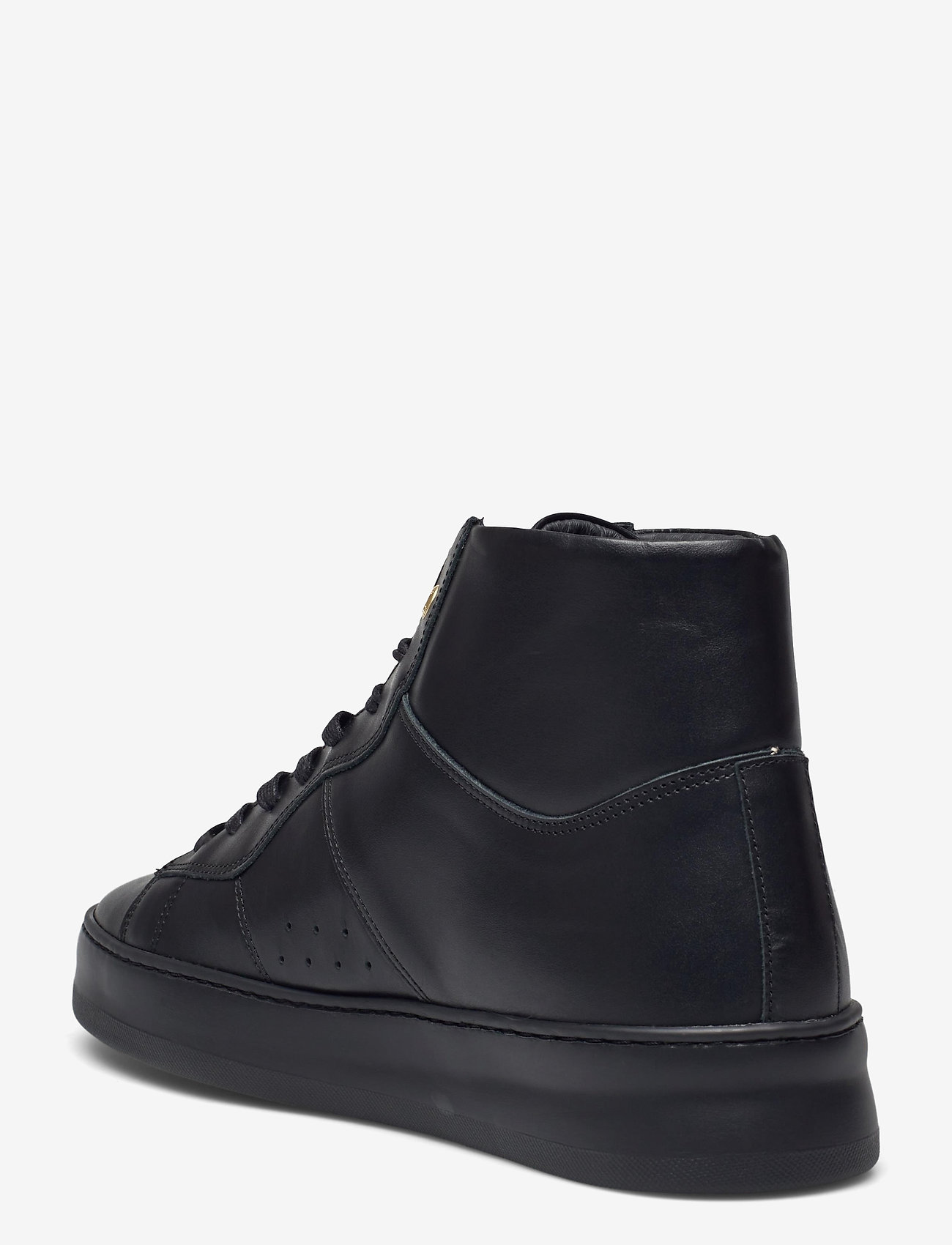 Filling Pieces - Mid Plain Court - höga sneakers - black - 2