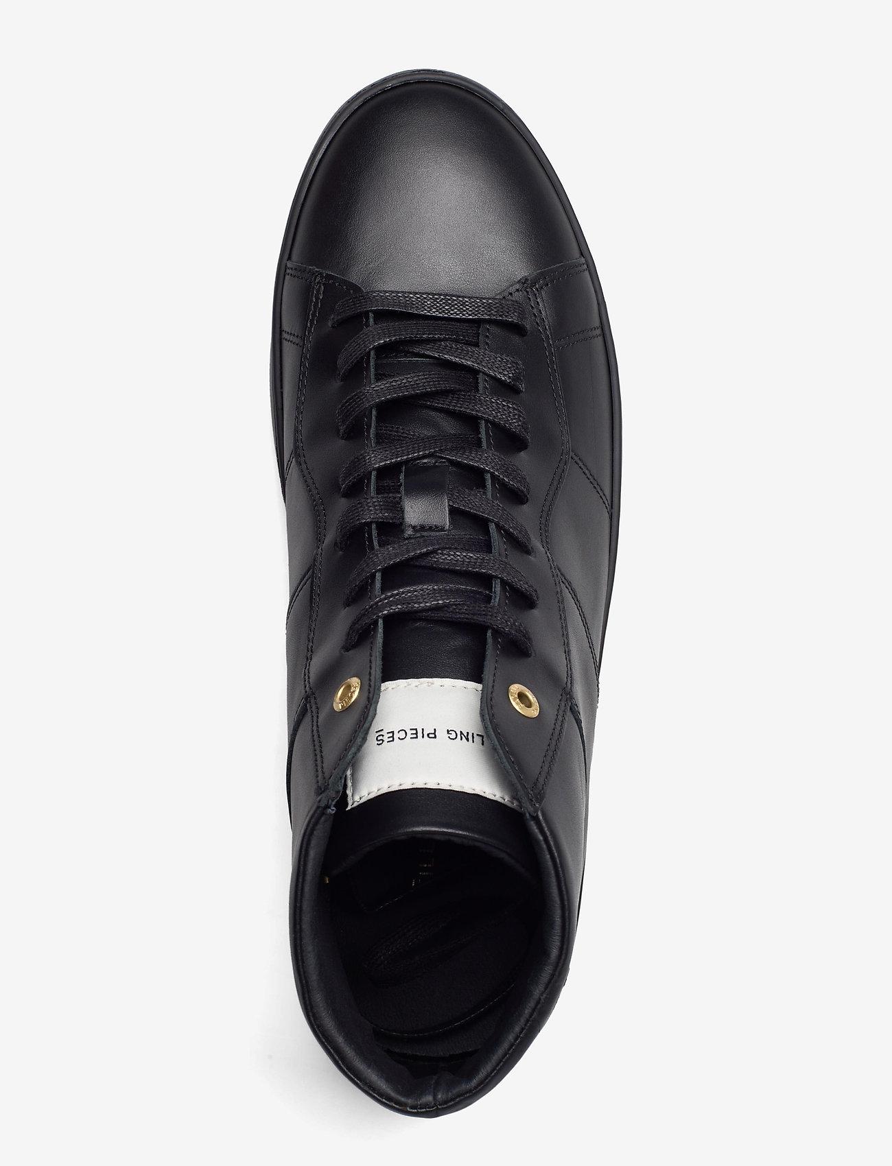 Filling Pieces - Mid Plain Court - höga sneakers - black - 3