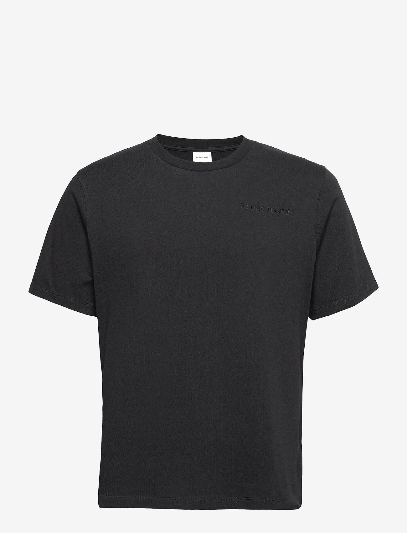 Filling Pieces - Essential Core Logo Tee - t-shirts basiques - black - 0