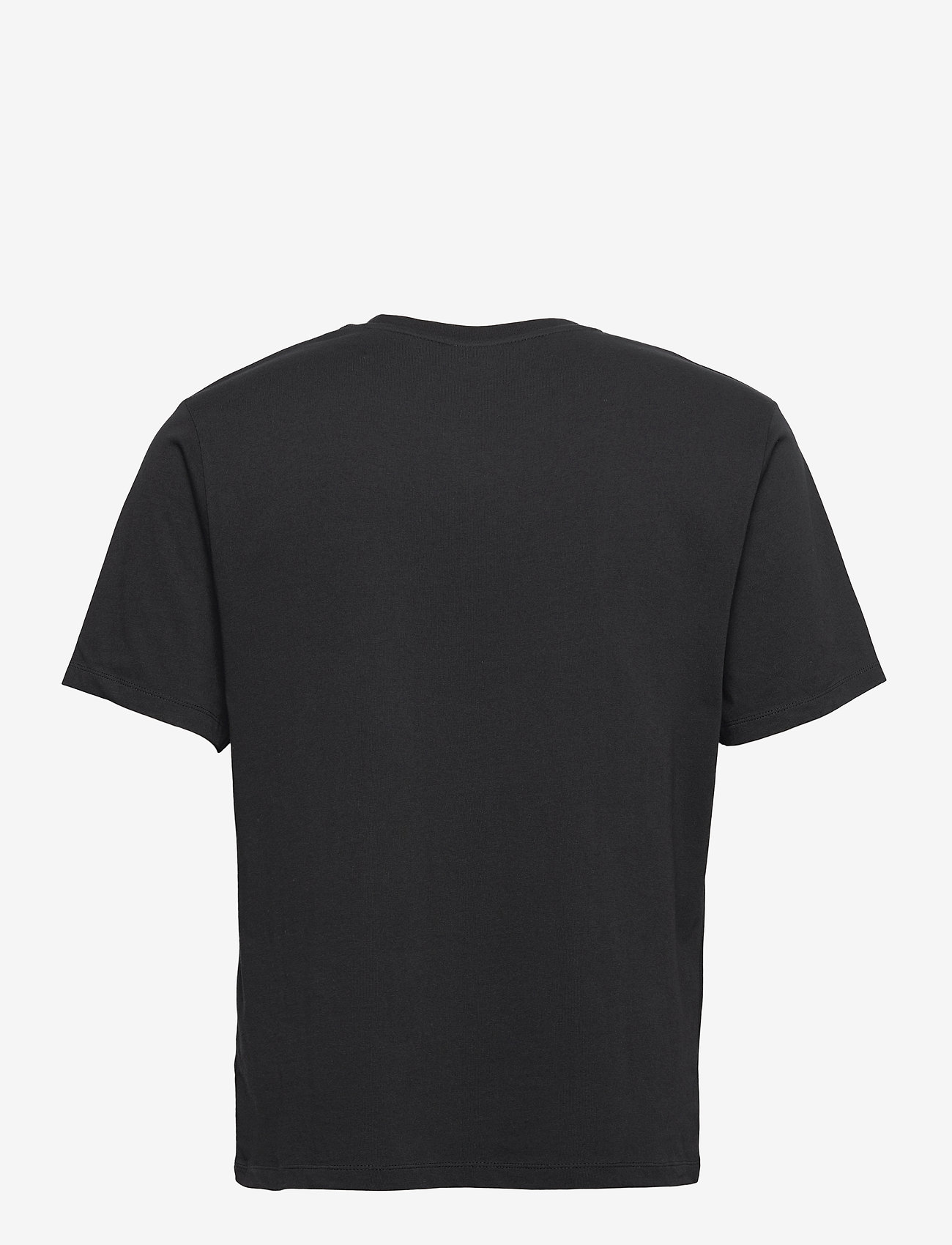 Filling Pieces - Essential Core Logo Tee - t-shirts basiques - black - 1