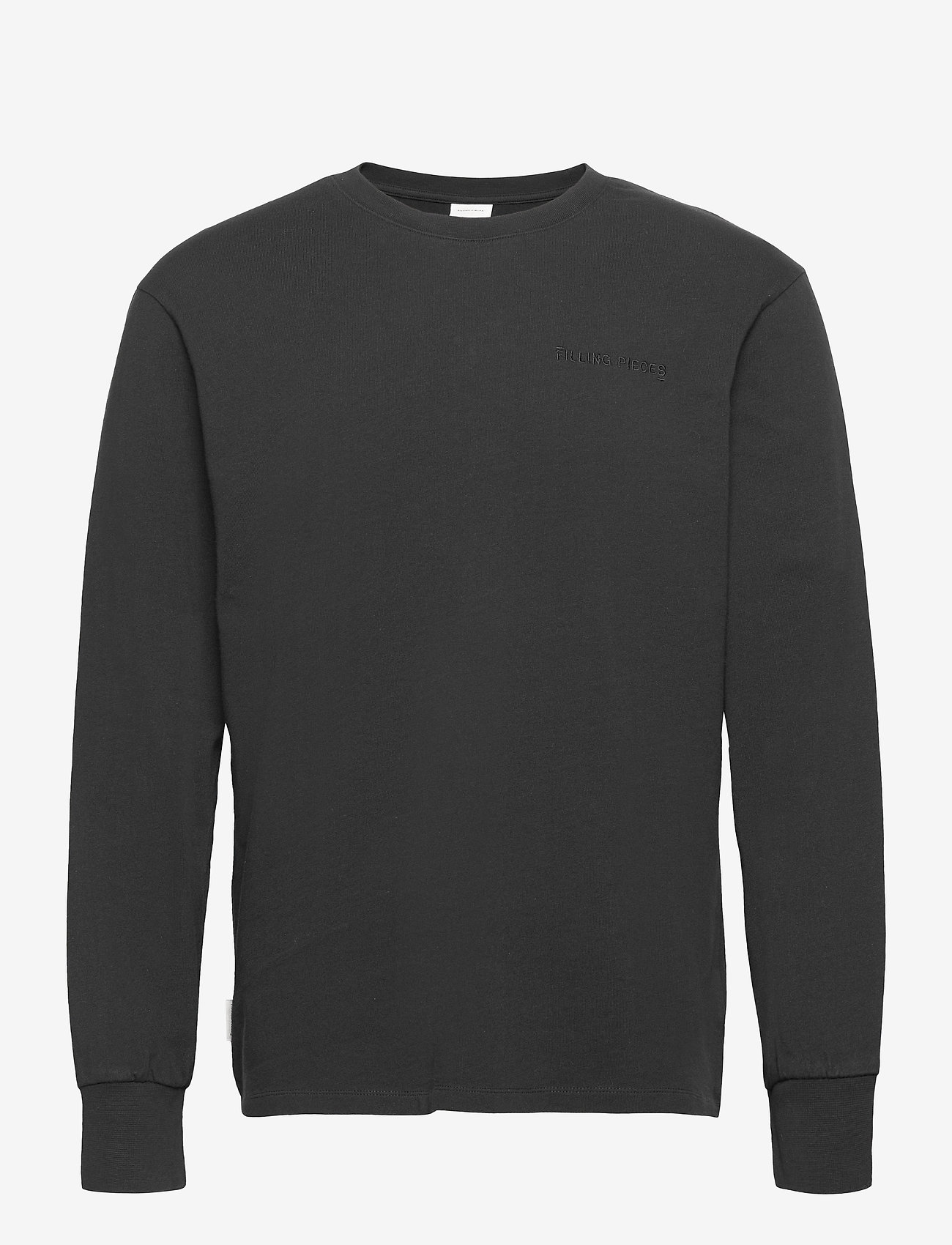 Filling Pieces - Essential Core Logo Tee - basic t-shirts - black - 0