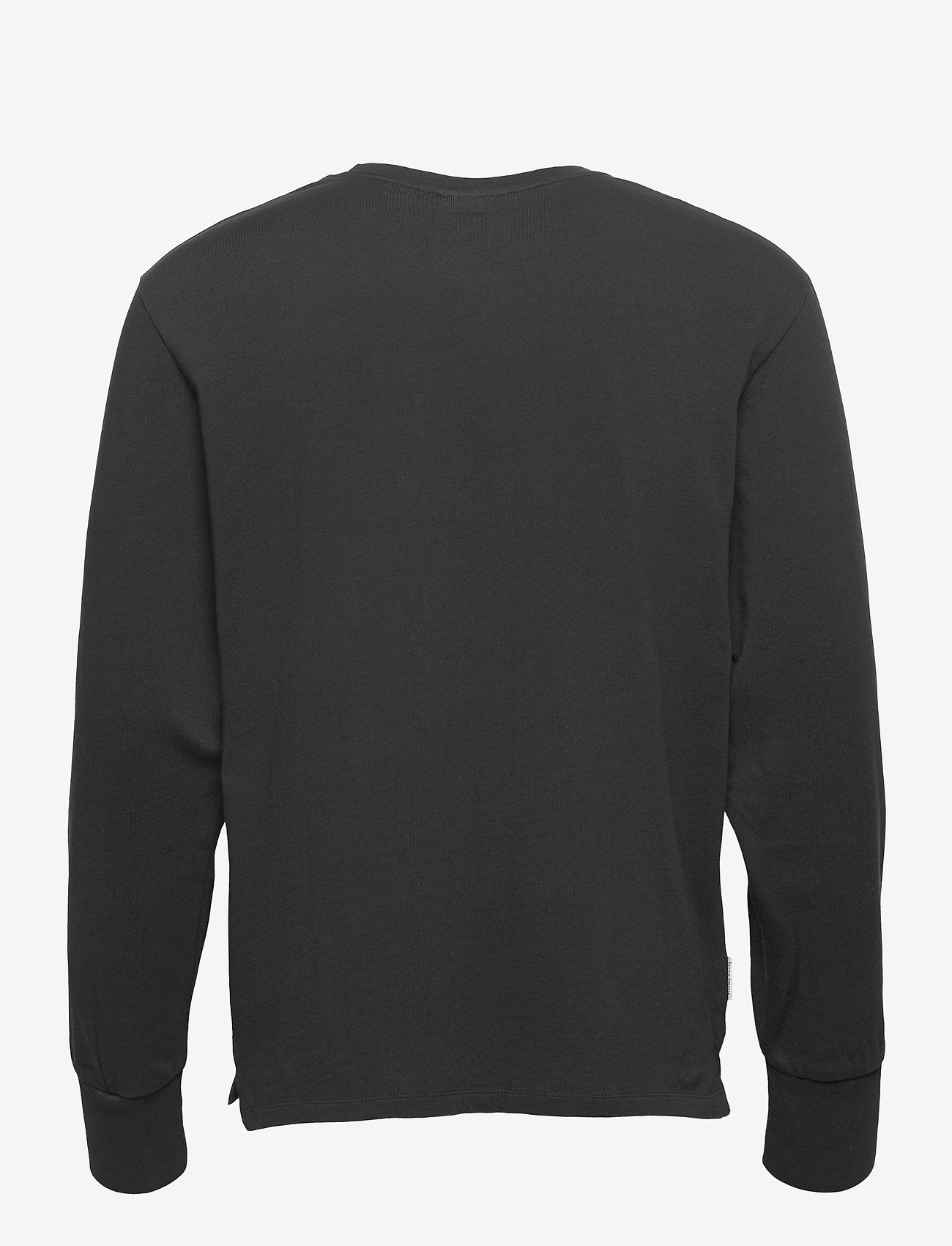 Filling Pieces - Essential Core Logo Tee - basic t-shirts - black - 1