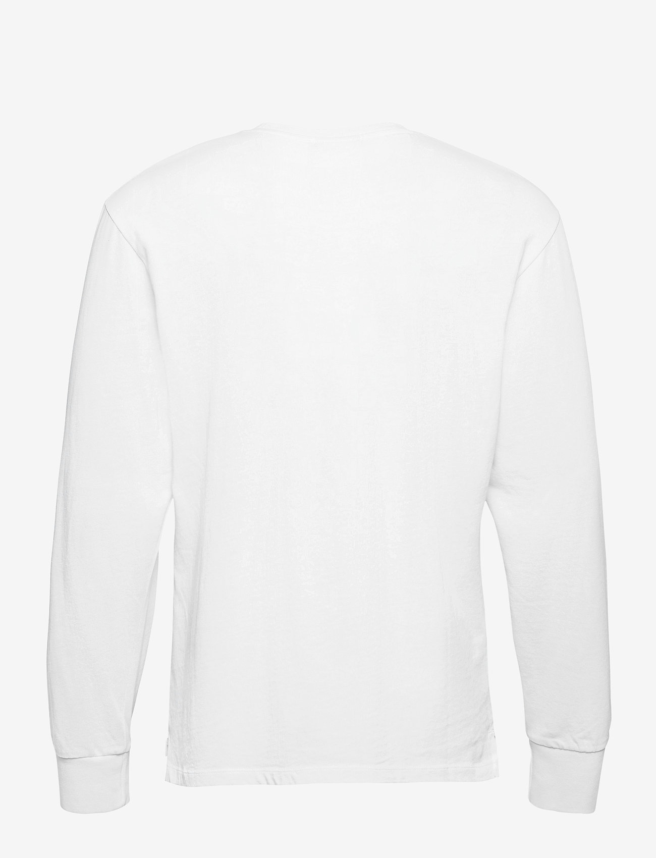Filling Pieces - Essential Core Logo Tee - basic t-shirts - white - 1