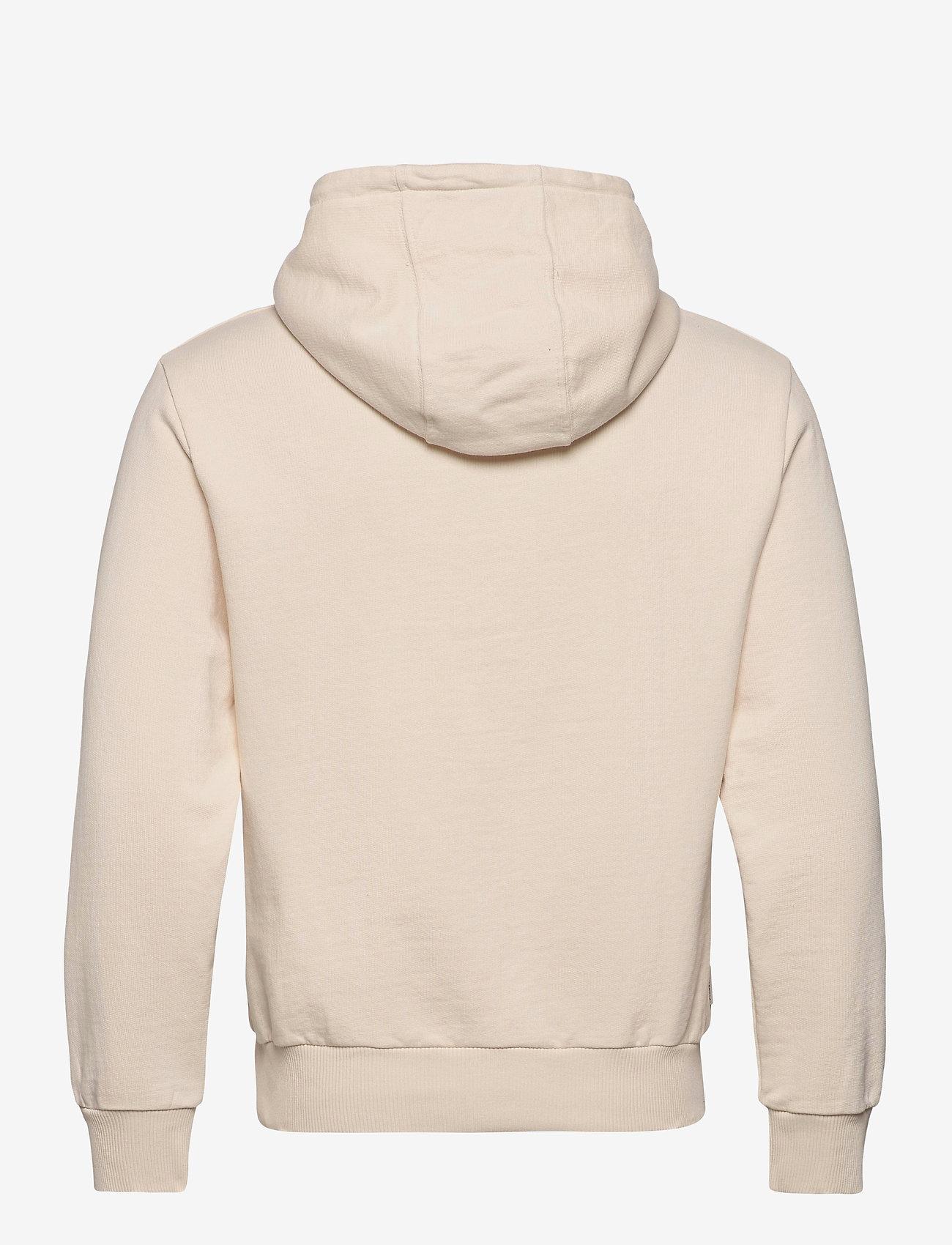 Filling Pieces - Essential Two Stripe Hoodie - hoodies - beige - 1
