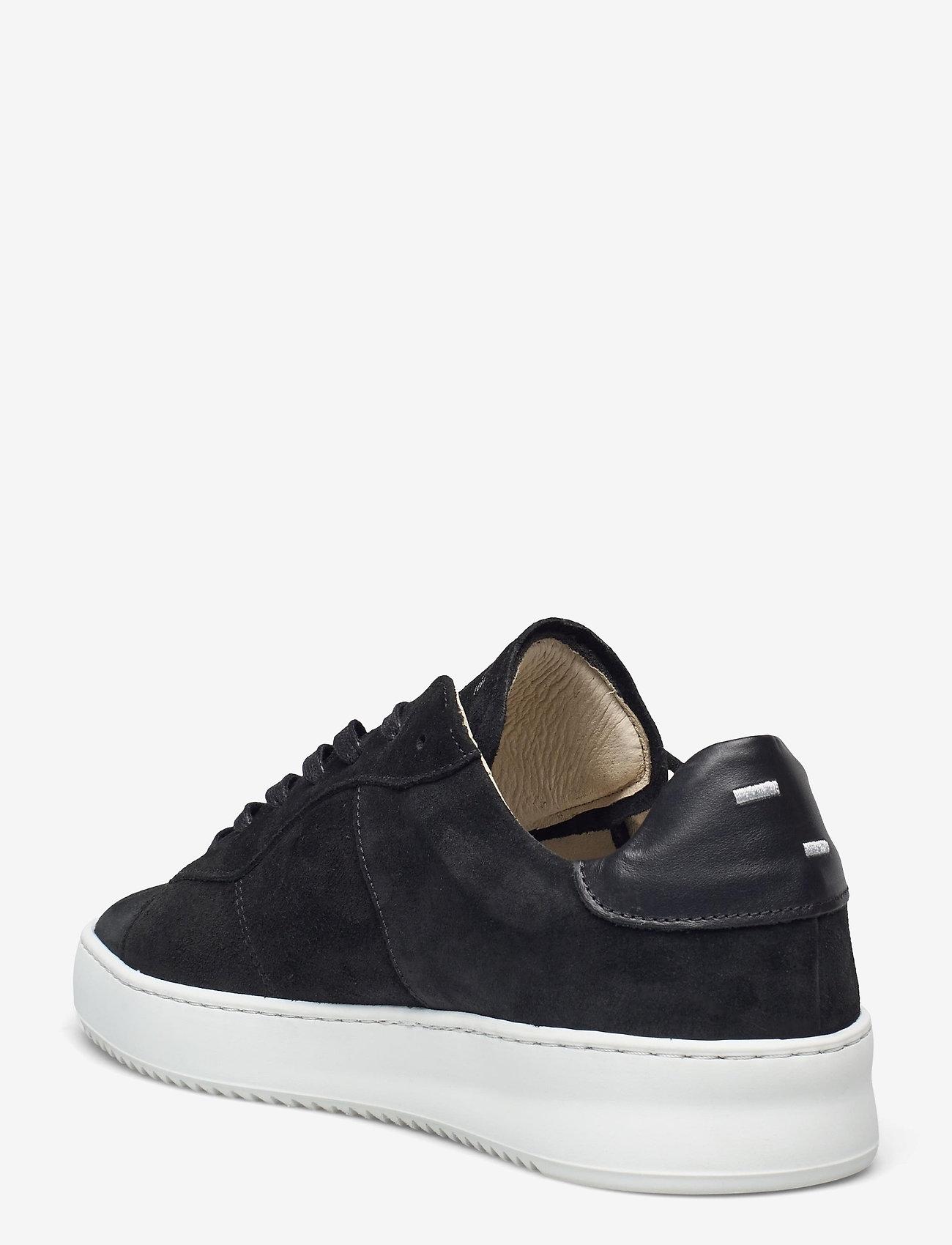Filling Pieces - Court Ripple Suede - låga sneakers - black - 2