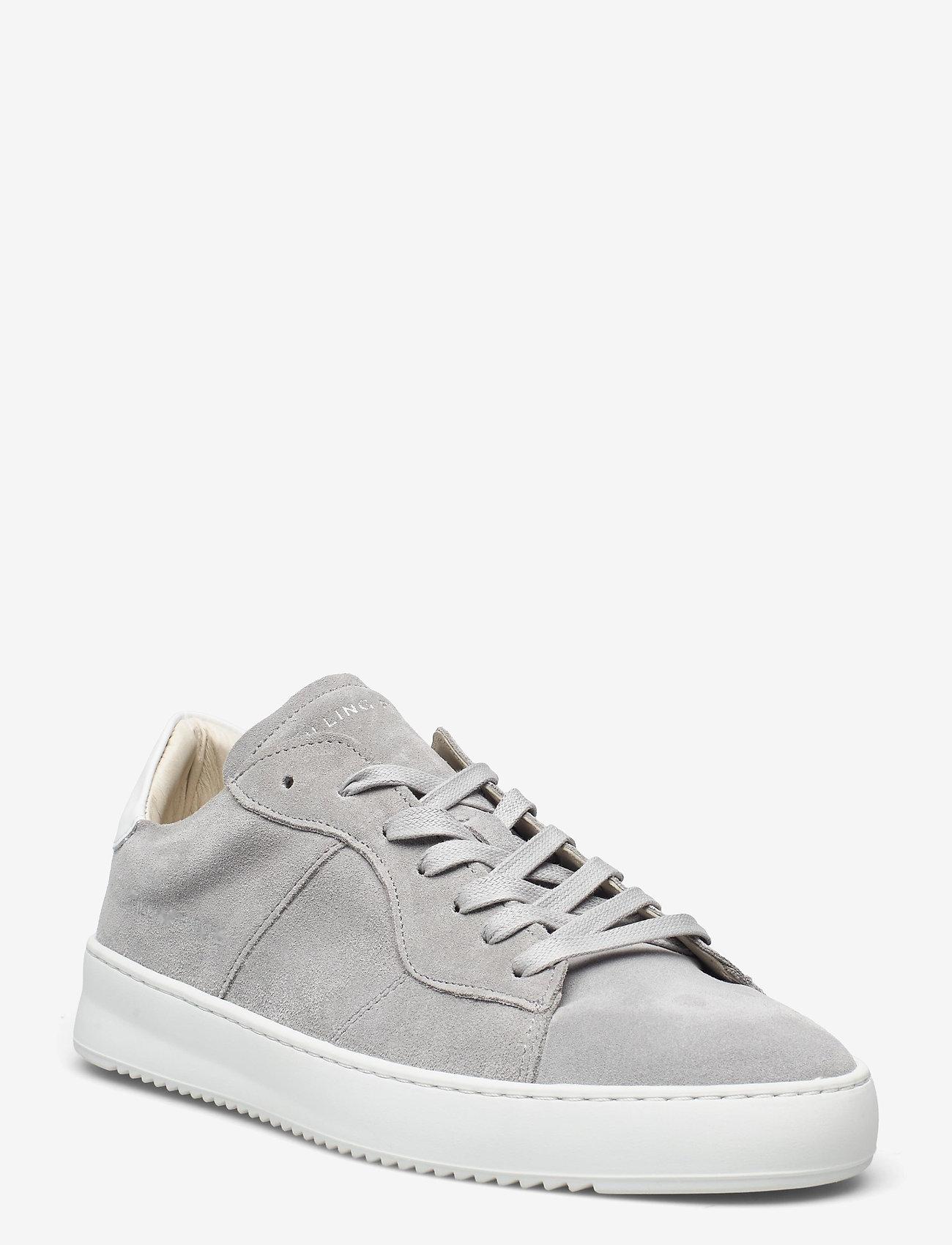 Filling Pieces - Court Ripple Suede - låga sneakers - grey - 0
