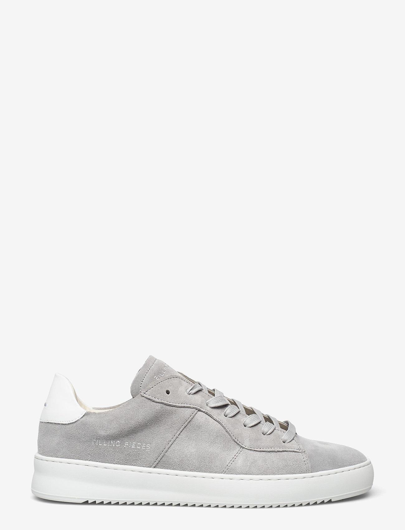 Filling Pieces - Court Ripple Suede - låga sneakers - grey - 1
