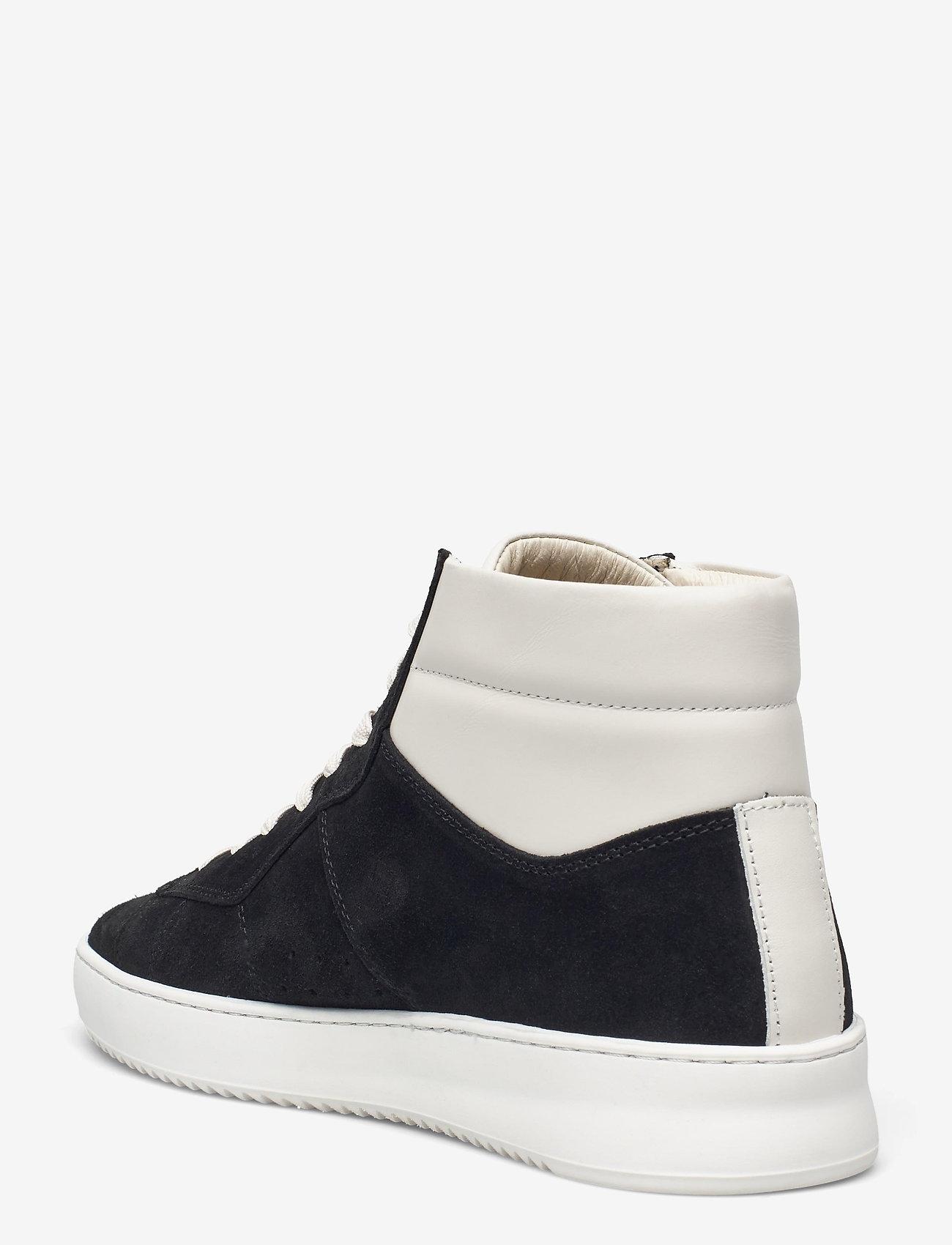 Filling Pieces - Mid Court Suede - höga sneakers - black - 2