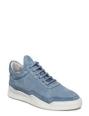 Low Top Ghost Suede - BLUE