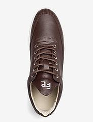 Filling Pieces - Low Top Crumbs - höga sneakers - dark brown - 3