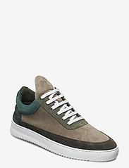 Filling Pieces - Low Top Ripple Multi - low tops - army green - 0