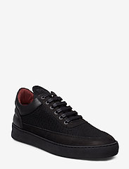 Filling Pieces - Low Top Plain Infinity - low tops - all black - 0