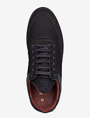Filling Pieces - Low Top Plain Infinity - low tops - all black - 3