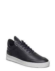 Low Top Ripple Lane Nappa - BLACK