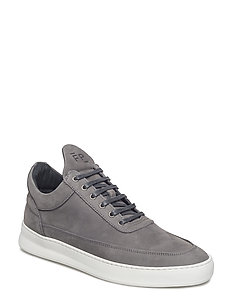 Low Top Plain Lane Nubuck - DARK GREY