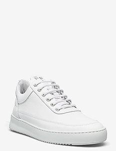 Low Top Ripple Crumbs - låga sneakers - white