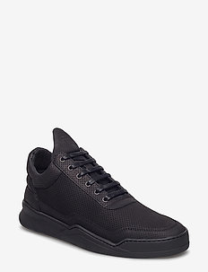 Low Top Ghost Microlane - tenis - all black