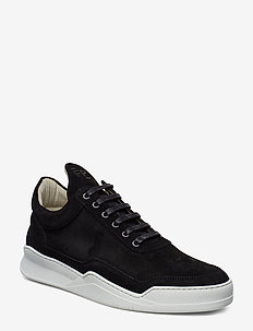 Low Top Ghost Suede - BLACK