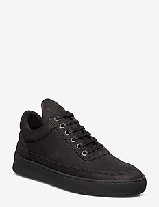 Low Top Plain Lane - BLACK
