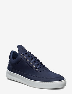 Low Top Plain Lane Nubuck - BLUE