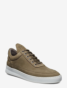Low Top Plain Lane Nubuck - MILITARY GREEN