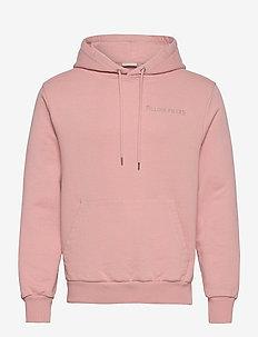 Essential Core Logo Hoodie - hoodies - soft pink