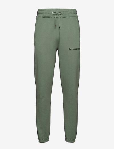 Core Sweat Pants Black - kleding - green