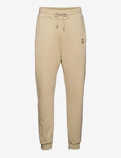 Lux Sweat Pants Pale Khaki (2.0) - kleding - beige