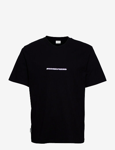 AW21 Tee Black Blurred Fire - t-shirts basiques - black
