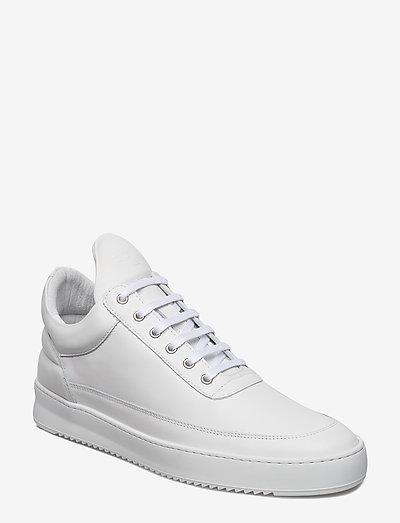 Low Top Ripple Lane Nappa - låga sneakers - white