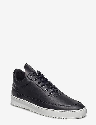 Low Top Ripple Nappa - låga sneakers - black