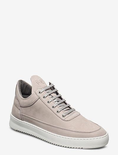 Low Top Ripple Nubuck - låga sneakers - grey
