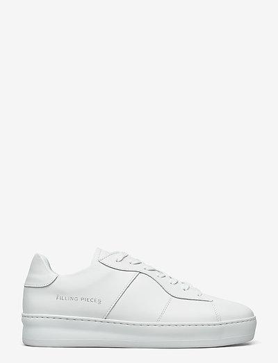 Light Plain Court - låga sneakers - all white