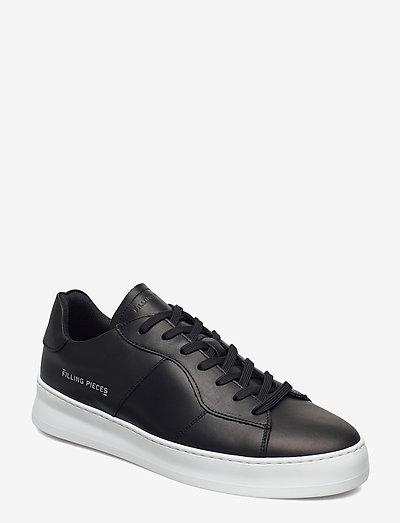 Light Plain Court - laag sneakers - black