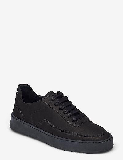 Mondo 2.0 Ripple Nubuck - låga sneakers - all black