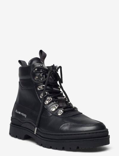 Mountain Boot Nappa - kängor med snörning - black