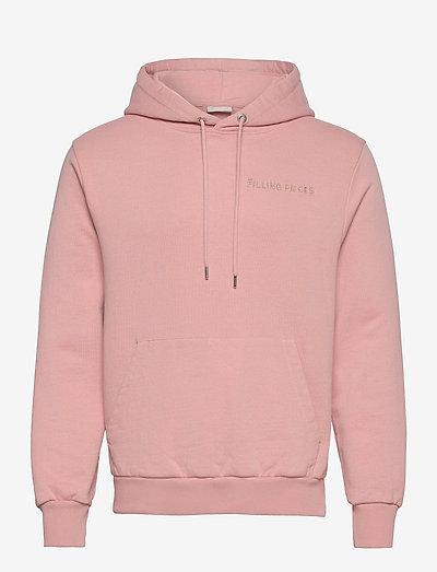 Essential Core Logo Hoodie - bluzy z kapturem - soft pink