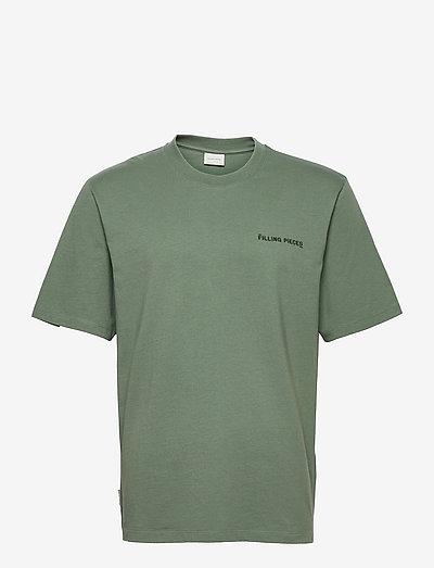 Core Tee Green Milieu - basic t-shirts - green